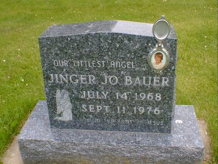BAUER, JINGER JO - Cerro Gordo County, Iowa | JINGER JO BAUER