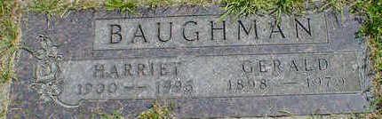 BAUGHMAN, HARRIET - Cerro Gordo County, Iowa | HARRIET BAUGHMAN