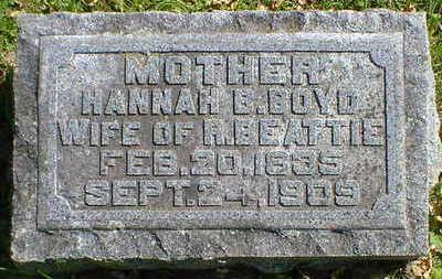 BEATTIE, HANNAH B. - Cerro Gordo County, Iowa | HANNAH B. BEATTIE