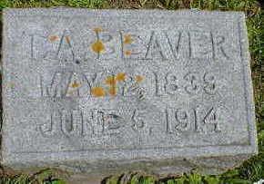 BEAVER, T. A. - Cerro Gordo County, Iowa   T. A. BEAVER