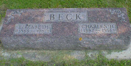 BECK, ELIZABETH (BEHRENDS) - Cerro Gordo County, Iowa | ELIZABETH (BEHRENDS) BECK