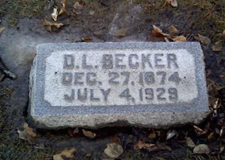 BECKER, D.L. - Cerro Gordo County, Iowa | D.L. BECKER