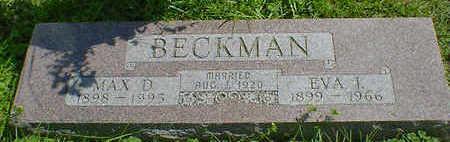 BECKMAN, EVA I. - Cerro Gordo County, Iowa | EVA I. BECKMAN