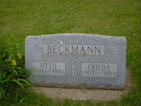 BECKMANN, FRIEDA - Cerro Gordo County, Iowa | FRIEDA BECKMANN