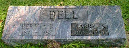 BELL, BERTHA E. - Cerro Gordo County, Iowa   BERTHA E. BELL