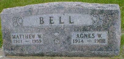 BELL, MATTHEW W. - Cerro Gordo County, Iowa | MATTHEW W. BELL