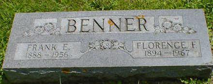 BENNER, FRANK E. - Cerro Gordo County, Iowa | FRANK E. BENNER