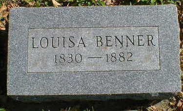 BENNER, LOUISA - Cerro Gordo County, Iowa | LOUISA BENNER