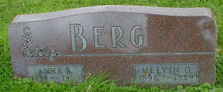 BERG, ANNA B. - Cerro Gordo County, Iowa | ANNA B. BERG
