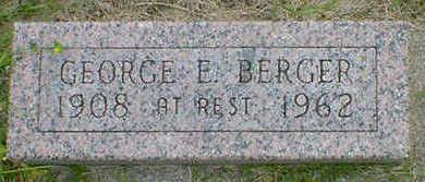 BERGER, GEORGE E. - Cerro Gordo County, Iowa | GEORGE E. BERGER
