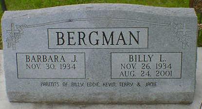 BERGMAN, BILLY L. SR. - Cerro Gordo County, Iowa | BILLY L. SR. BERGMAN