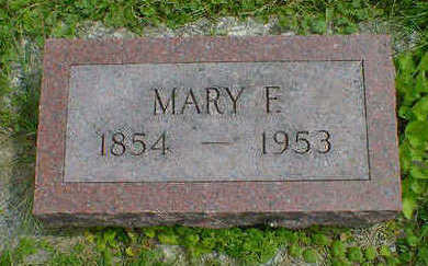 BERNER, MARY F. - Cerro Gordo County, Iowa | MARY F. BERNER
