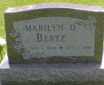 BERTZ, MARILYN D. (HERBERT) - Cerro Gordo County, Iowa | MARILYN D. (HERBERT) BERTZ