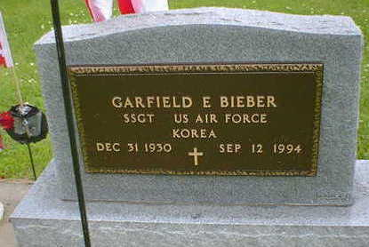BIEBER, GARFIELD E. - Cerro Gordo County, Iowa | GARFIELD E. BIEBER