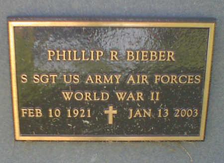 BIEBER, PHILLIP R. - Cerro Gordo County, Iowa   PHILLIP R. BIEBER