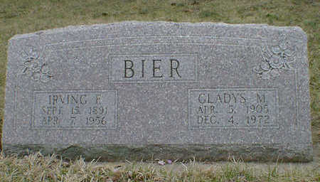 BIER, GLADYS M. - Cerro Gordo County, Iowa | GLADYS M. BIER