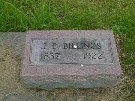 BILLINGS, J, E, - Cerro Gordo County, Iowa | J, E, BILLINGS