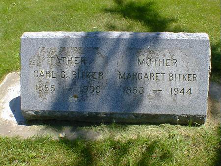 BITKER, CARL G. - Cerro Gordo County, Iowa   CARL G. BITKER