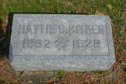 BITKER, HATTIE B. - Cerro Gordo County, Iowa | HATTIE B. BITKER
