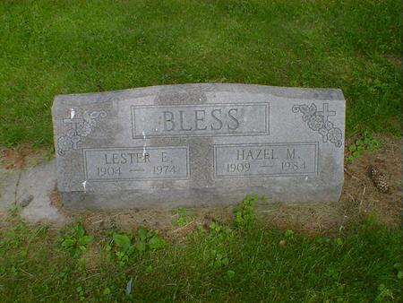 BLESS, LESTER E. - Cerro Gordo County, Iowa | LESTER E. BLESS