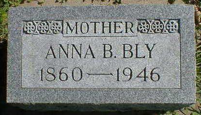 BLY, ANNA B. - Cerro Gordo County, Iowa | ANNA B. BLY
