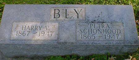 BLY, HARRY V. - Cerro Gordo County, Iowa   HARRY V. BLY