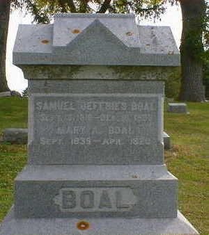 BOAL, MARY A. - Cerro Gordo County, Iowa | MARY A. BOAL