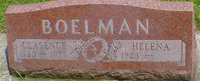 BOELMAN, CLARENCE - Cerro Gordo County, Iowa | CLARENCE BOELMAN
