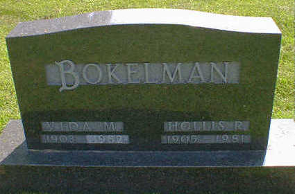 BOKELMAN, VIDA M. - Cerro Gordo County, Iowa | VIDA M. BOKELMAN
