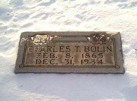 BOLIN, CHARLES - Cerro Gordo County, Iowa | CHARLES BOLIN