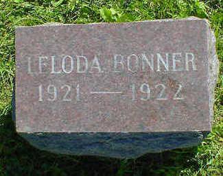 BONNER, LELODA - Cerro Gordo County, Iowa | LELODA BONNER