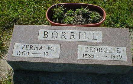 BORRILL, GEORGE E. - Cerro Gordo County, Iowa | GEORGE E. BORRILL