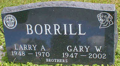 BORRILL, LARRY A. - Cerro Gordo County, Iowa | LARRY A. BORRILL