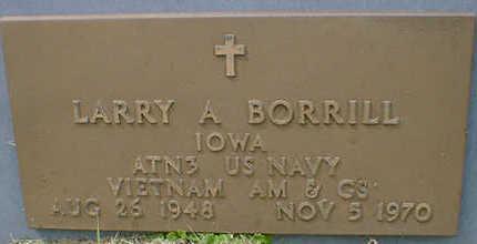 BORRILL, LARRY A. - Cerro Gordo County, Iowa | LARRY A. BORRILL