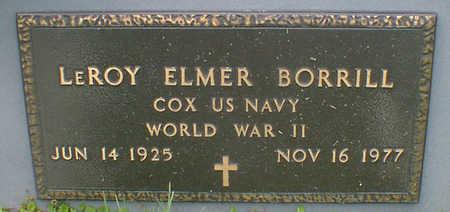 BORRILL, LEROY ELMER - Cerro Gordo County, Iowa | LEROY ELMER BORRILL