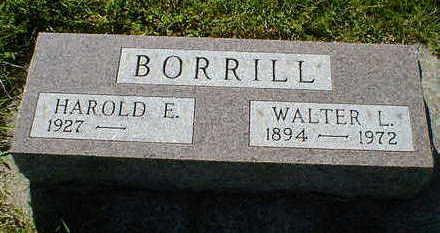 BORRILL, WALTER L. - Cerro Gordo County, Iowa | WALTER L. BORRILL
