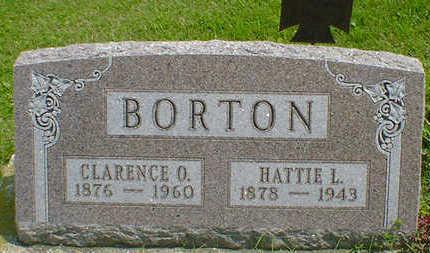 BORTON, CLARENCE O. - Cerro Gordo County, Iowa | CLARENCE O. BORTON