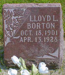 BORTON, LLOYD L. - Cerro Gordo County, Iowa | LLOYD L. BORTON