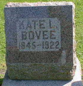 BOVEE, KATE L. - Cerro Gordo County, Iowa | KATE L. BOVEE