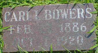 BOWERS, CARL L. - Cerro Gordo County, Iowa | CARL L. BOWERS