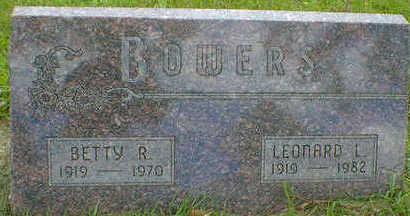 BOWERS, BETTY R. - Cerro Gordo County, Iowa | BETTY R. BOWERS