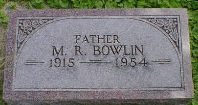 BOWLIN, M. R. - Cerro Gordo County, Iowa | M. R. BOWLIN