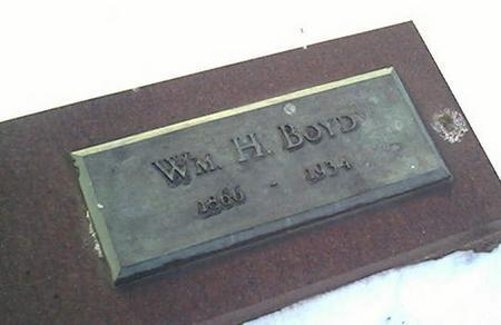 BOYD, WM. H. - Cerro Gordo County, Iowa | WM. H. BOYD
