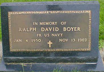 BOYER, RALPH DAVID - Cerro Gordo County, Iowa | RALPH DAVID BOYER