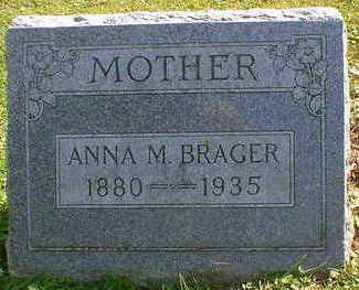 BRAGER, ANNA M. - Cerro Gordo County, Iowa | ANNA M. BRAGER