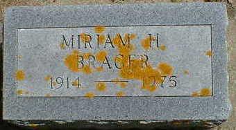 BRAGER, MIRIAM H. - Cerro Gordo County, Iowa | MIRIAM H. BRAGER