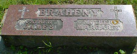 BRAHENY, JAMES J. - Cerro Gordo County, Iowa | JAMES J. BRAHENY