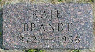 BRANDT, KATE - Cerro Gordo County, Iowa | KATE BRANDT