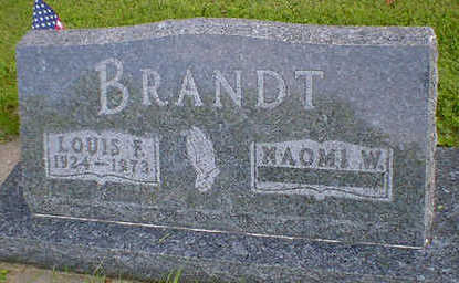 BRANDT, LOUIS F. - Cerro Gordo County, Iowa | LOUIS F. BRANDT