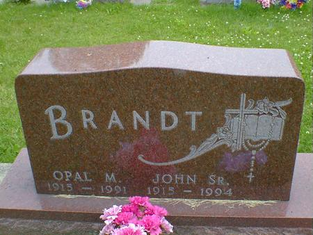 BRANDT, OPAL M. - Cerro Gordo County, Iowa | OPAL M. BRANDT